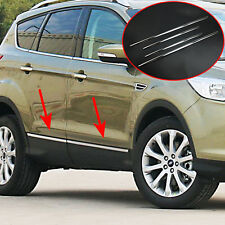 FIT FOR FORD ESCAPE KUGA CHROME DOOR SIDE LINE MOLDING BODY TRIM COVER GARNISH