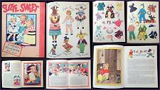 Suzie Sweet Story & Paper Doll Book by Helen Lamb Anthropomorphism 1940