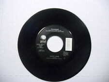 THUNDER Dirty Love/Girl's Going Out Of Her Head 45 RPM Geffen