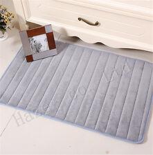 Coral Velvet Thick Water Absorbent Pad Front Bathroom Bedroom Door Mat