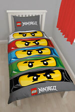 LEGO Ninjago Eyes Children Bed Sheets Bed Set NINJA-GO Kids Set 135x200 new