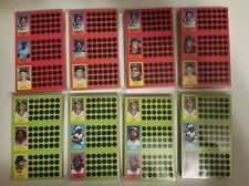 1981 TOPPS BASEBALL Scratch Off Game Card Panels Complete  MASTER SET 432 Cards
