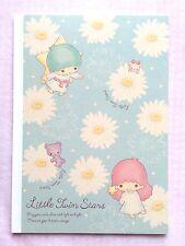 Sanrio New Daisies Design Little Twin Stars B5 Notebook JAPAN kawaii KIKI LALA