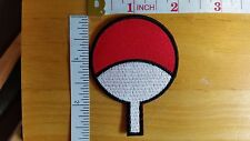 Uchiha Clan Logo Patch Naruto Sasuke Itachi Akatsuki Embroidered Iron on Patch