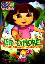 Dora the Explorer - Let's Explore! Dora's Greatest Adventures (DVD, 2010)