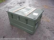 Military Metal Storage Case Like ZARGES Transport Shipping Tool Box MOD Army