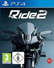 PS4 Game RIDE 2 Motorcycle race NIP Playstation 4 Package shipping