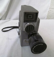 REVERE EYE-MATIC SPOOL EIGHT 8mm MOVIE CAMERA, Model CA-7, Wollensak Raptar Lens