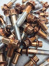 160Pcs Custom Assembly 8mm Powder Coated Rose Gold Bolts For 2 And 3PC Wheels