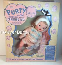 EXTREMELY RARE~1961 VINTAGE UNEEDA PURTY DOLL~ORIGINAL BOX CLOTHES BLANKET