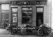 Indian Motorcycle Vintage Dealer Carrier & Cowles  Photo 1910 Sidecars