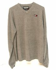 Abercrombie and Fitch Men's Sweater Size XL X-Large Long Sleeve Gray Thick