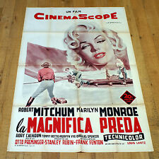 LA MAGNIFICA PREDA manifesto poster affiche Marilyn Monroe River of No Return