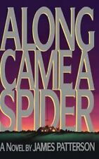 Along Came a Spider Hardcover James Patterson Alex Cross Book 1 FREE SHIPPING