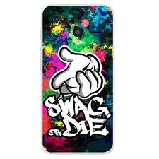 Coque Alcatel One Touch Pixi 3(4.5) Silicone Gel qualité FR - Swag Or Die