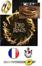 bague film le seigneur des anneaux collection vendeur francais STOCK EN FRANCE
