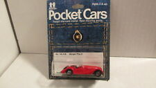 1979?  TOMY Pocket Cars  No. 140-F26  MORGAN PLUS 8 red  MIP  tomica
