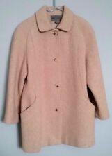 Classic BROMLEY COLLECTION Mid-Length Beige Wool Coat - 8 P