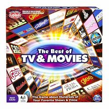 Spin Master Games - Best of Movies and TV Board Game , New, Free Shipping
