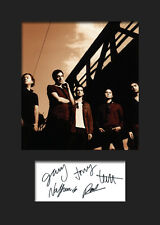 SNOW PATROL #2 Signed Photo Print A5 Mounted Photo Print - FREE DELIVERY