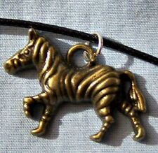 ZEBRA-- B --- NECKLACE  -- (GREAT_CHRISTMAS_GIFT)