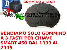 TASTO CHIAVE SMART FORTWO 450 - 3 TASTI TELECOMANDO