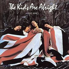 THE WHO KIDS ARE ALRIGHT SOUNDTRACK  CD 1979   AAD
