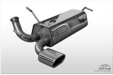 PEUGEOT 206 RC tailpipe 135x80