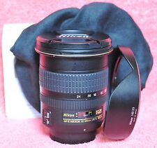 Nikon Zoom-Nikkor 12-24mm F/4.0 AS DX G SWM AF-S IF ED M/A Lens Mint in Case