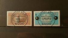 Bund BRD 1983 Mi. Nr. 1175-1176 gestempelt Vollstempel Frankfurt ABO sh Shop