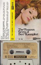 BERT KEAMPFERT - The Famous 7 of Bert Kaempfert ★ MC Musikkassette