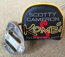 "Brand New Scotty Cameron Kombi-S Putter 34"" with Custom Shop Midsize grip"