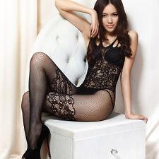 Sexy Damen Netz Strumpf Unterwäsche Gabelung Dessous Lingerie Reizwäsche