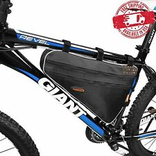 IBERA Bike Front Top Tube Triangle Frame Bag Saddle Pouch Storage Case NEW FB1-L