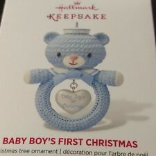 2014 Hallmark Baby Boy's First Christmas Ornament