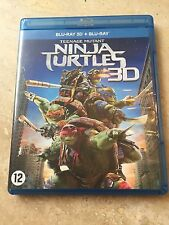 "BLU-RAY 3D + BLU-RAY ""NINJA TURTLES 3D"""