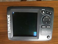 Lowrance Elite-5X DSI fishfinder and manual ONLY
