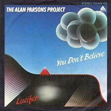 """7"""" Alan Parsons Project – You Don't Believe / Lucifer // Germany 1983"""