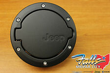 2007-2016 Jeep Wrangler 2-Door Black Satin Fuel Filler Gas Cap Door Mopar OEM
