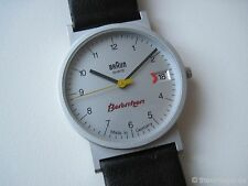 VTG 1990s BRAUN Quartz Wrist Watch 3802 AW 20 LUBS Germany Bauhaus Rams 50 15