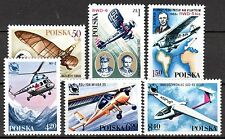 Poland - 1978 Aviation history - Mi. 2551-56 MNH