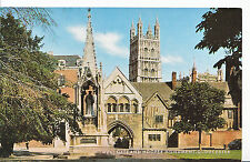 Gloucestershire Postcard - West Gate and Hooper Monument    XX754