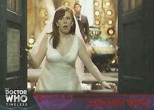 "Doctor Who Timeless: No 54 ""Runaway Bride"" Red Parallel Base Card #17/25"