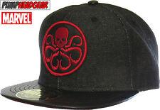 Marvel Comics HYDRA Black Snapback Cap