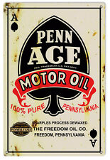 Reproduction Penn Ace Motor Oil Sign
