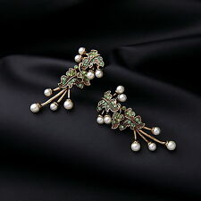 Leaves and Grapes Earrings/ JER67037