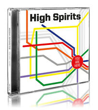 HIGH SPIRITS - You Are Here (NEW*US METAL*HARD ROCK*ZÜÜL*THIN LIZZY*UFO*MAIDEN)