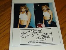 SANDRA TAYLOR AUTOGRAPHED SIGNED PHOTO PICS HOWARD STERN SHOW CERTIFICATE