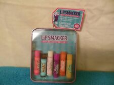 Bonne Bell Ice Cream Soda  Lip Smacker Set of 6 With Collectible Tin Box Gift