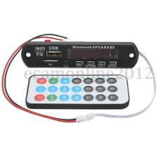 LED Decodificador MP3 WMA Bluetooth 12V Decoder FM Módulo TF Audio Radio Coche